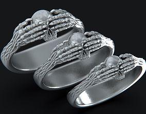 3D printable model Death Claddagh Ring