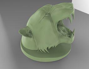 Roaring Tiger 3D print model