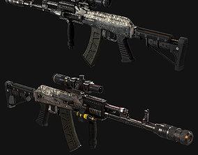 AK 377 3D asset