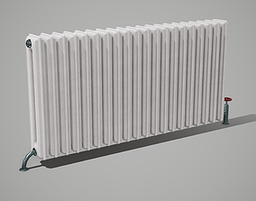 Old Style Wall Radiator 3D model