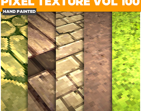 3D model Pixel Vol 100 - Game PBR Textures