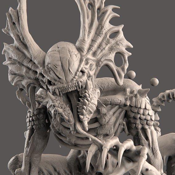 Alien Hunter Creature