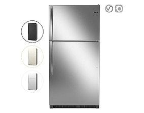 Whirlpool 33-inch Wide Top Freezer Refrigerator 3D