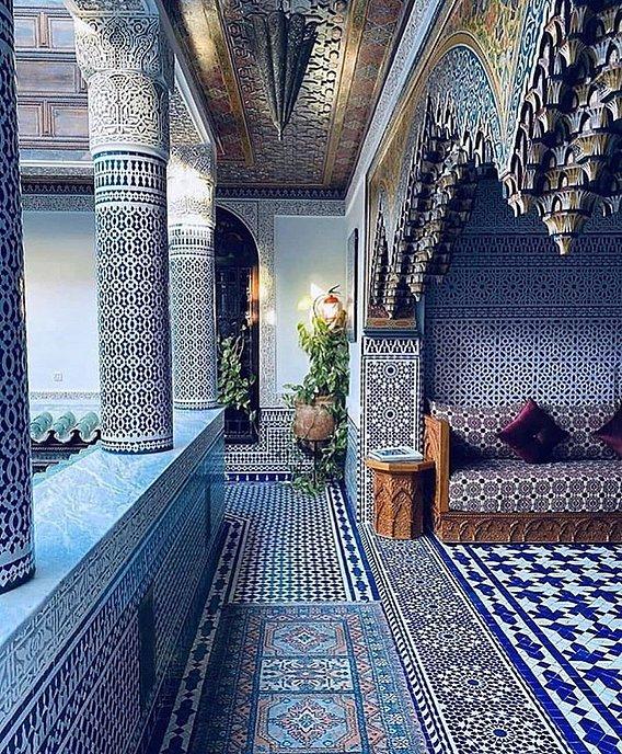 hall  Morocco  design