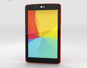 3D model LG G Pad 7-0 Luminous Orange