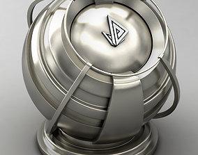 VRAY SHADER---METAL---Palladium 3D model