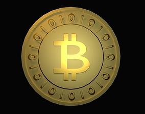 3D asset Bitcoin