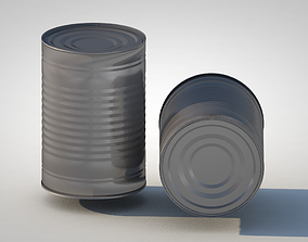 3D Tin Can canned
