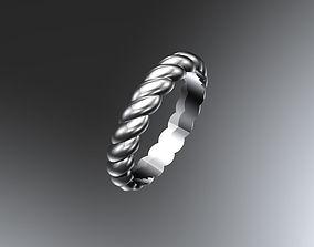 Twist band 3D printable model