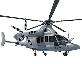 3D Eurocopter X3 Helicopter