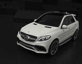 3D asset Mercedes-Benz GLE63S AMG 2017