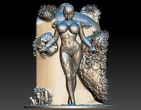 3D print model Goddess of the Ocean