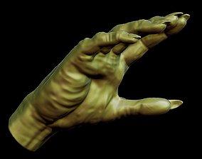 Creepy Monster Hand model for 3D print