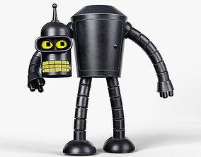 Bender Futurama 3D model