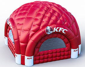 3D inflatable tent air blow tent Blow-up tent