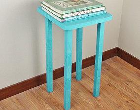 3D printable model Square Table - Life Sized Furniture