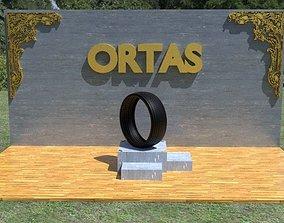ORTAS TIRE NO 22 GAME READY 3D asset