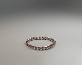 3D asset Pearl Bracelet