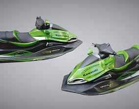 Jetski 3D model PBR