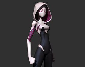 Spider-Gwen 3D