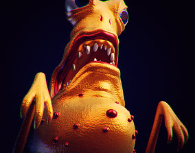 3D model Bacteria 2 rigged