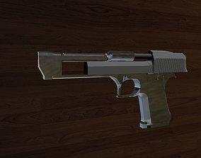 3D model Blank Desert Eagle Template