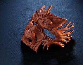 Dark Fantasy Demon Mask 3D print model
