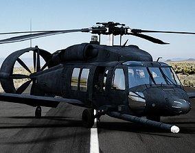 3D asset Piasecki X-49 Speedhawk