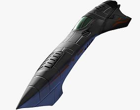 3D Space Speedster - Fighter