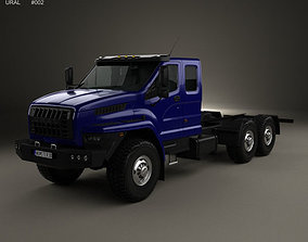 Ural Next Chassis Truck 2015 3D model