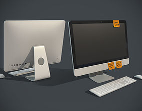 All In One computer 3D asset