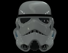 3D model Imperial Stormtrooper Helmet