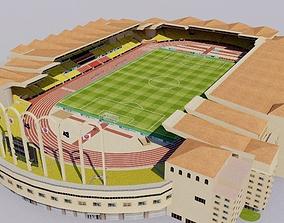 Stade Louis II - Monaco 3D asset