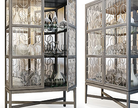3D Showcase Ensemble Display Cabinet by Carson