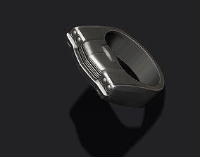 3D print model old car ring 33