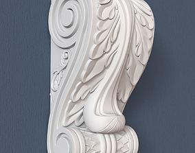 Decorative Corbel wall-decoration 3D