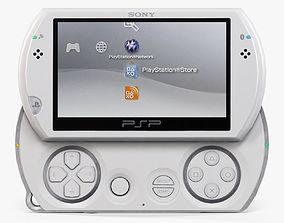 3D model Sony PSP Go N1008