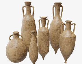 3D asset Amphora Collection PBR