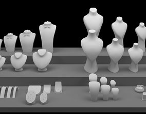 Jewelry Mannequins 3D