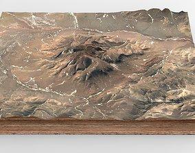 staellite Mountain landscape 3D