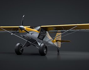 3D model Kit Fox S7 Bushplane