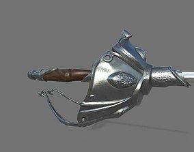 3D model Epee 1