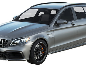 Mercedes Benz C63 AMG Estate 3D