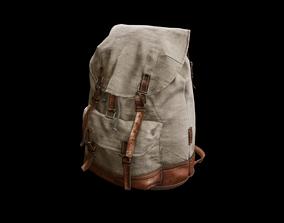 Old Backpack 3D asset