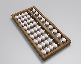 3D model Abacus contemporary