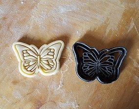 3D print model Butterfly cookie cutter
