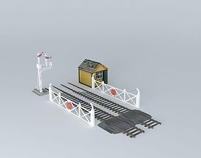 Eco Rail Track Crossings Old Steam Days 3D