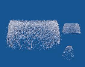 3D Fountain jet