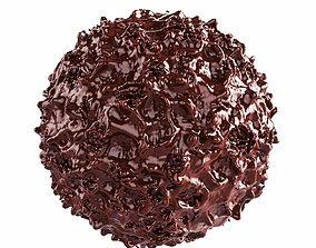 3D model Chocolate Sphere dessert