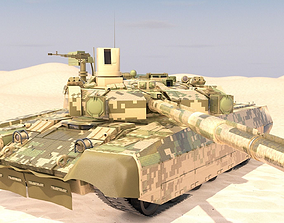 Tank Oplot-M Main Battle Tank 3D model
